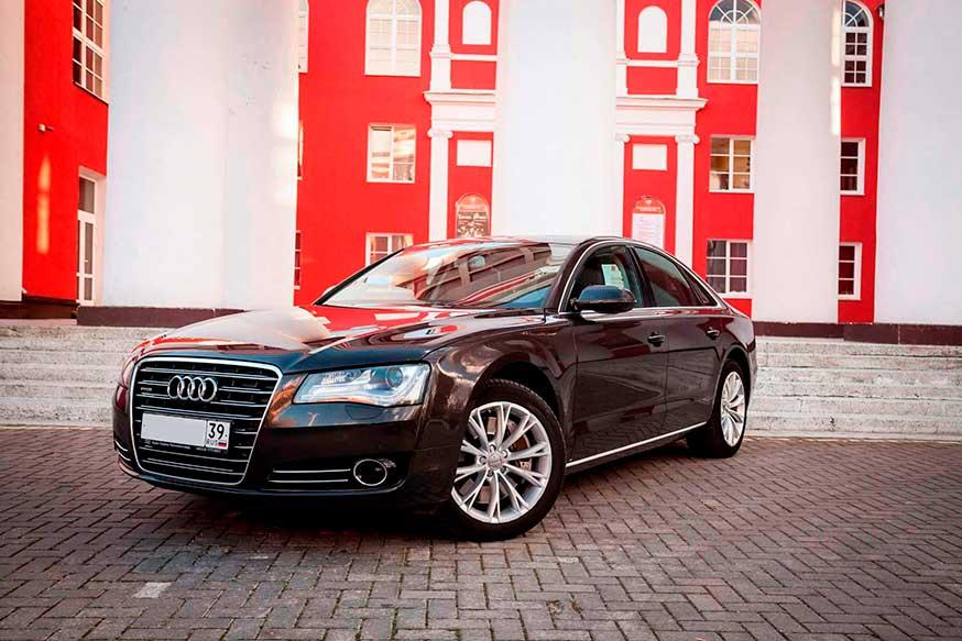 Автомобиль Audi- Трансфер из Калининграда